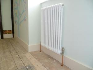 Here are a few photos of some classic column radiators which we installed.